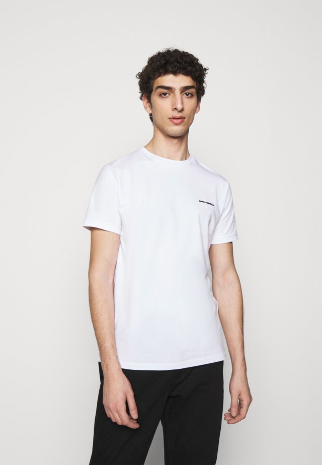 CREWNECK - Basic T-shirt - white