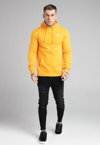 SIKSILK - BASIC OVERHEAD HOODIE UNISEX - Sweatshirt - yellow - 1