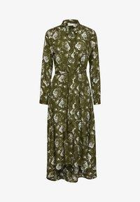 Kaffe - KAMALINE  - Shirt dress - grape leaf, chalk flower - 4