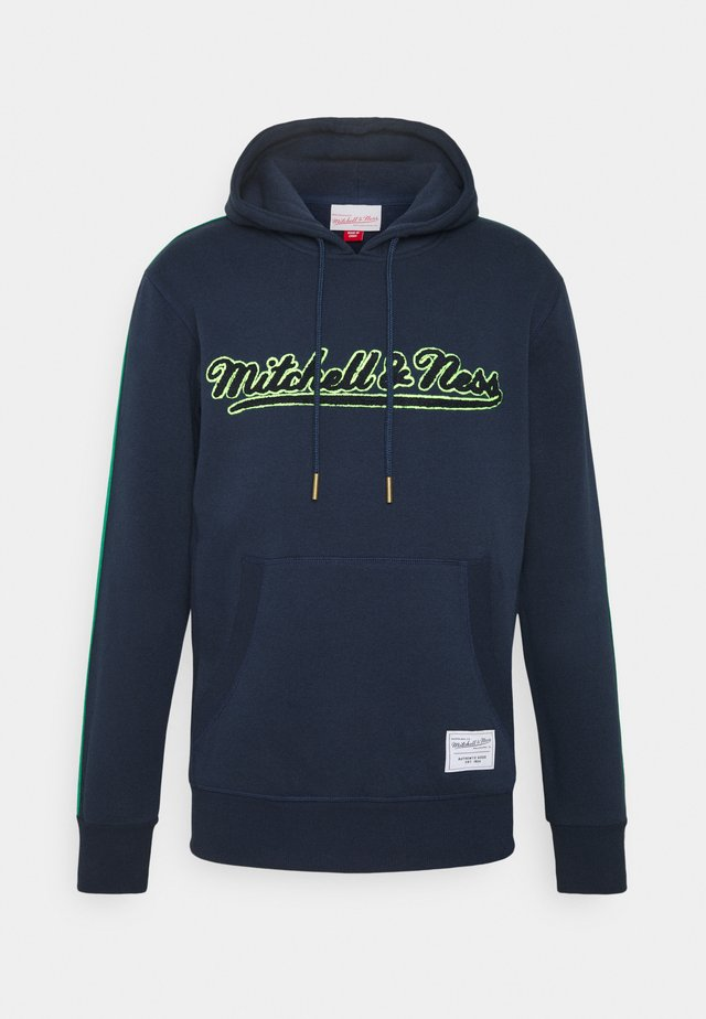 OWN BRAND TRACK HOODIE - Mikina s kapucí - navy