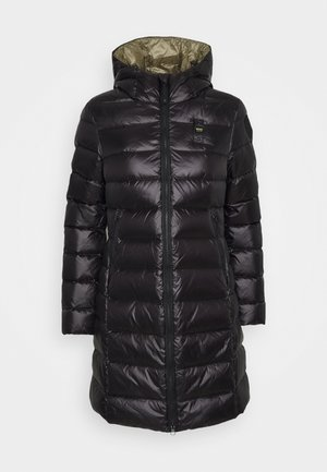 IMPERMEABILE LUNGHI IMBOTTITO - Down coat - black