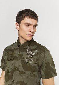 Schott - VICTORY - Overhemd - kaki - 3