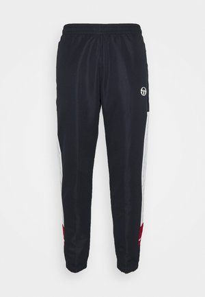 ANDRES PANT - Tracksuit bottoms - night sky/tango red