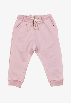 Tracksuit bottoms - powder pink