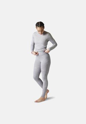 LIGHTWEIGHT INTRAKNIT 200 BASELAYER - Legging - light gray h/white