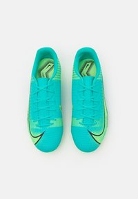 Nike Performance - JR MERCURIAL VAPOR 14 ACADEMY FG/MG UNISEX - Moulded stud football boots - dynamic turqoise/lime glow - 3