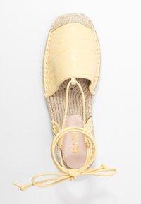 RAID - TARA - Loafers - yellow - 3