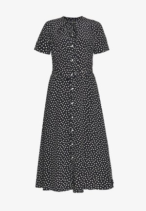 SHORT SLEEVE CASUAL DRESS - Shirt dress - spring polka