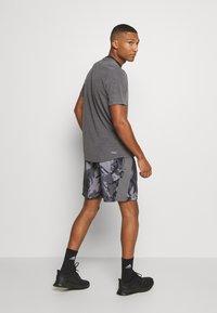 adidas Performance - AEROREADY PRIMEBLUE TRAINING SHORTS - Sports shorts - dovgry/grefou/black - 2