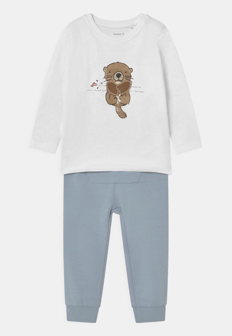 Name it - NBMBORAN SET - Trousers - snow white