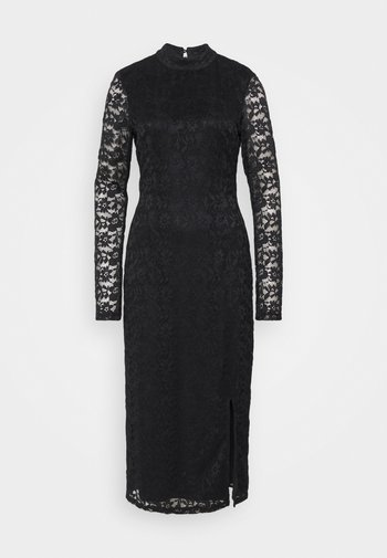 OPEN BACK PARTY DRESS - Vestido de cóctel - black