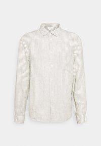 Linen Shirt - Camicia - green/white