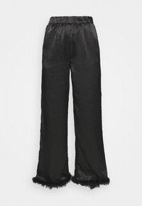 Résumé - BIA PANT - Pantalon classique - black - 4