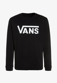 Vans - CLASSIC BOYS - Long sleeved top - black/white - 0