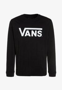 Vans - CLASSIC BOYS - Langarmshirt - black/white - 0