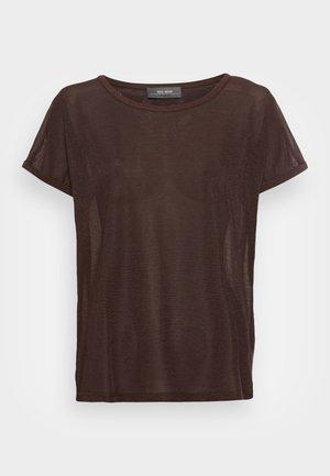 KAY TEE - Print T-shirt - brown