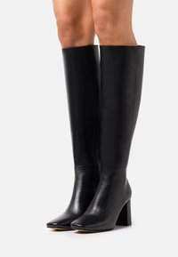 NA-KD - KNEE HIGH BOOTS - Boots - black - 0
