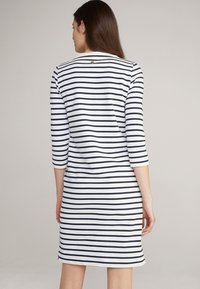 JOOP! - Jersey dress - navy/weiß - 2