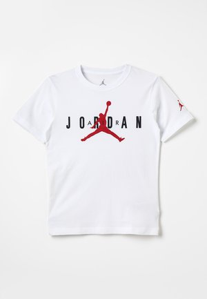 BRAND TEE - Camiseta estampada - white