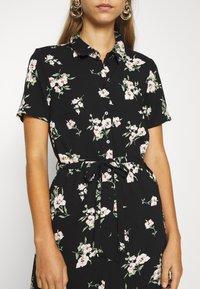 Vero Moda - VMSIMPLY EASY LONG SHIRT DRESS - Skjortekjole - black - 5