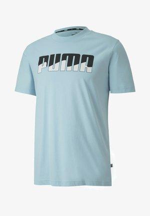 REBEL BOLD  - Print T-shirt - aquamarine