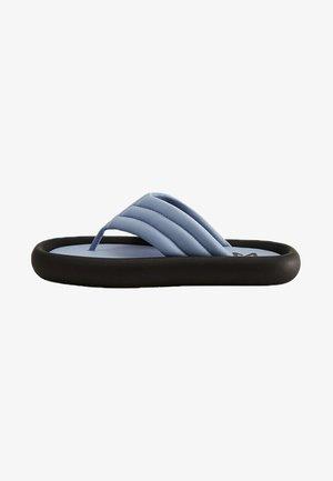 POOL - Sandalias de dedo - blau