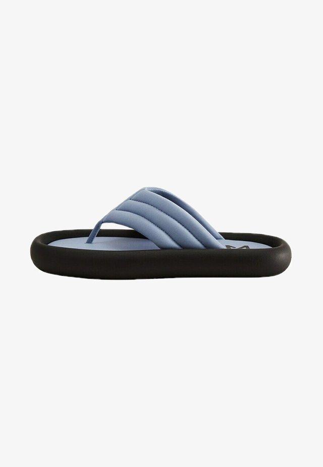 POOL - T-bar sandals - blau