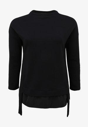 Long sleeved top - schwarz
