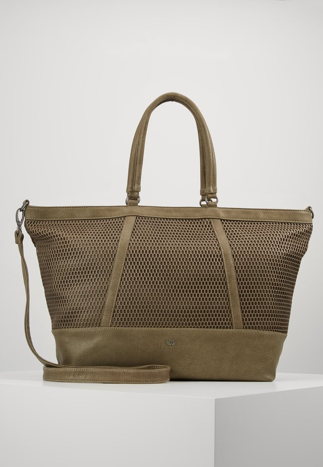 MATTEA - Shopping bag - olive
