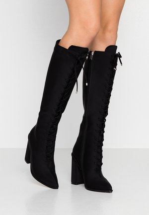 JESSIE - High heeled boots - black