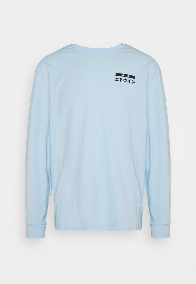 HANADOBORO UNISEX - Maglietta a manica lunga - light blue