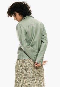 Garcia - Faux leather jacket - sea spray - 2
