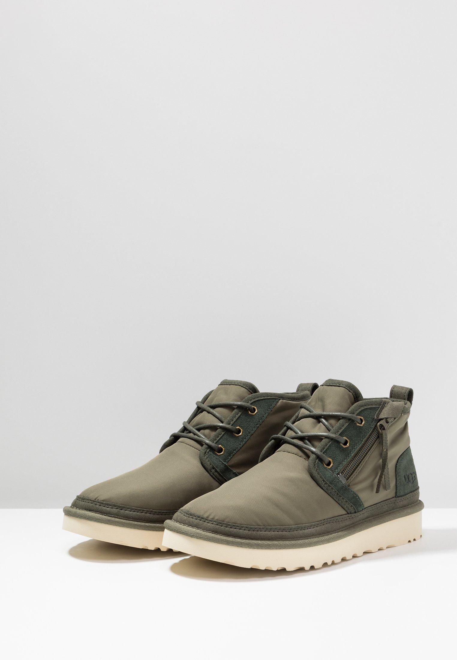 A hoy UGG NEUMEL ZIP - Zapatos con cordones - green | Zapatillas de hombre 2020 znIu7