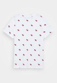 Abercrombie & Fitch - NOVELTY - T-shirt z nadrukiem - white - 1