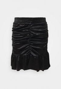 Vero Moda - VMKAITI SKIRT - Mini skirt - black - 0
