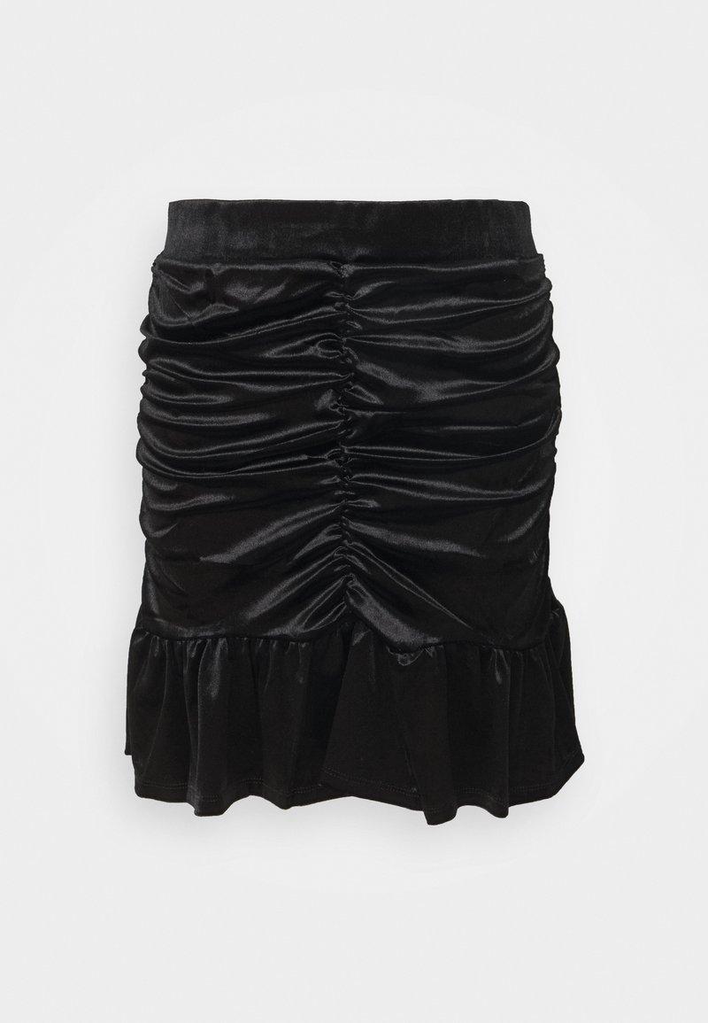 Vero Moda - VMKAITI SKIRT - Mini skirt - black