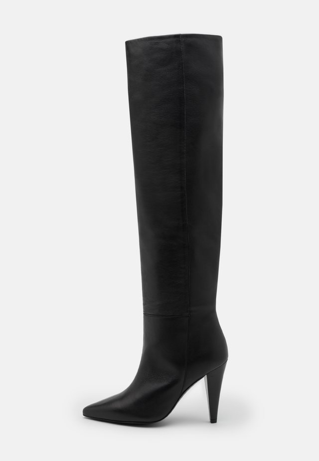 TUCAN - High heeled boots - black