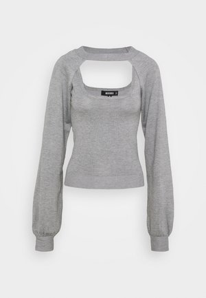 TWO PIECE LAYERED 2-IN-1 - Toppe - grey