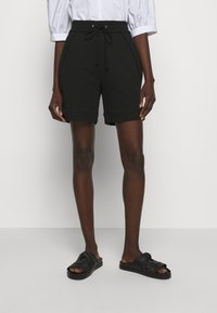 3.1 Phillip Lim - FRENCH TERRY PULL ON - Shorts - black - 0