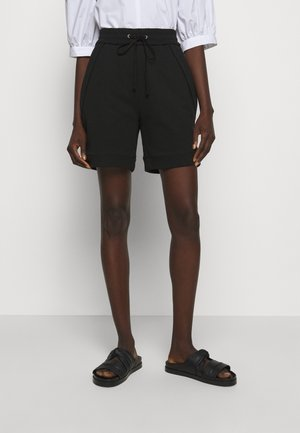 FRENCH TERRY PULL ON - Szorty - black