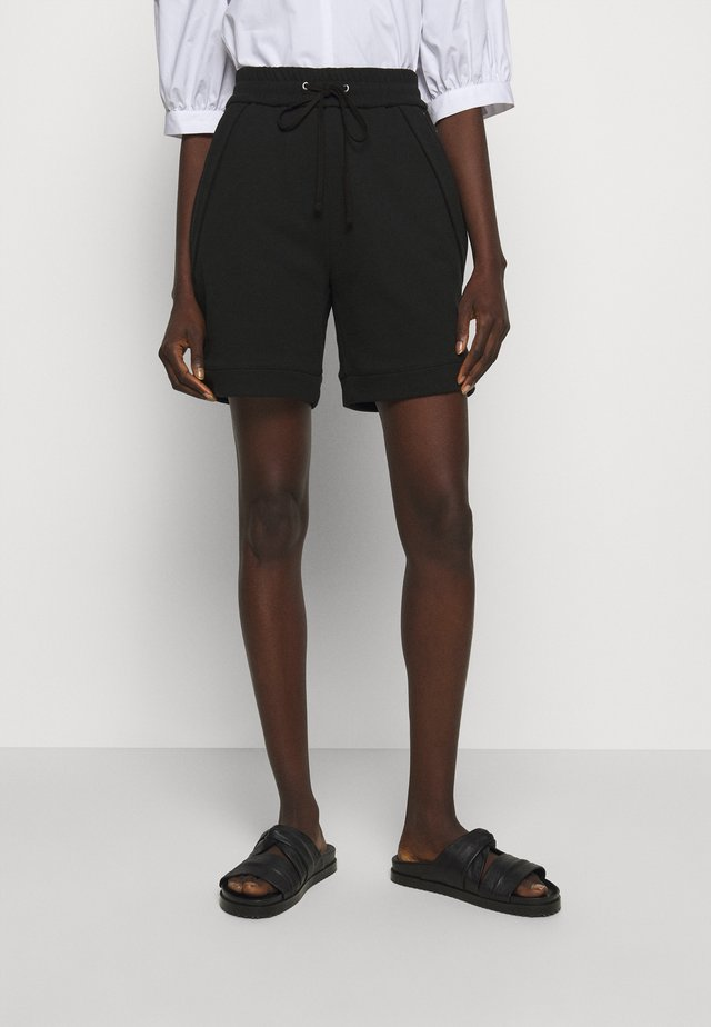 FRENCH TERRY PULL ON - Shorts - black