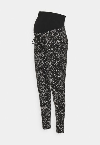 PANTS EVERETT - Spodnie materiałowe - black