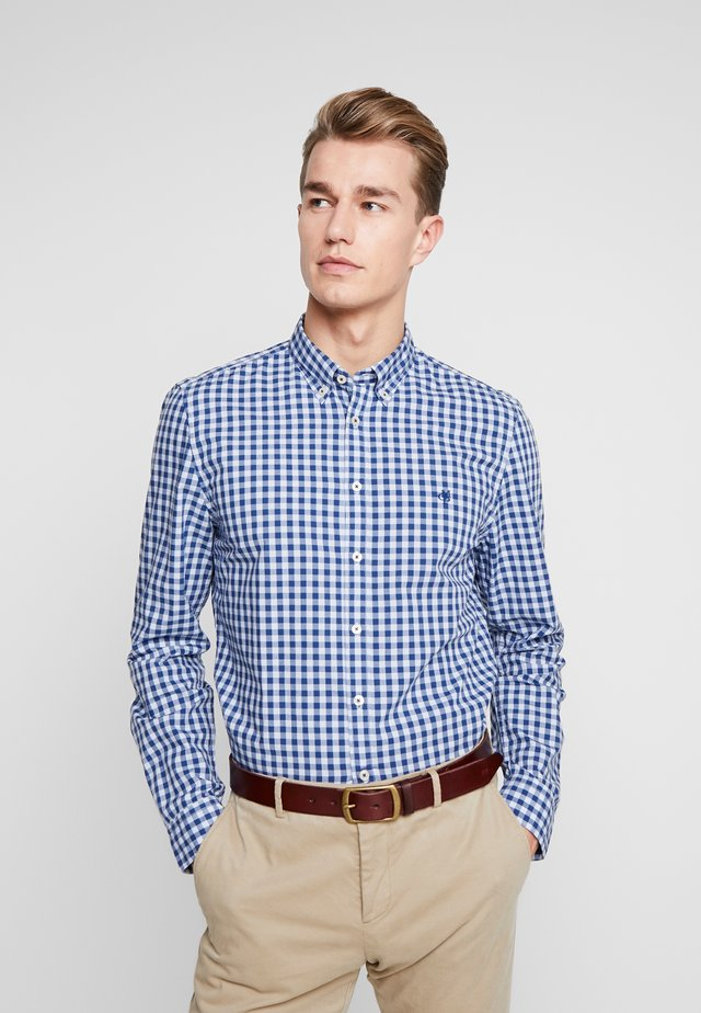 BUTTON DOWN LONG SLEEVE INSERTED - Shirt - combo