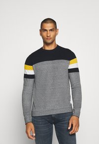 Jack & Jones - JJTUCKER - Stickad tröja - spicy mustard - 0