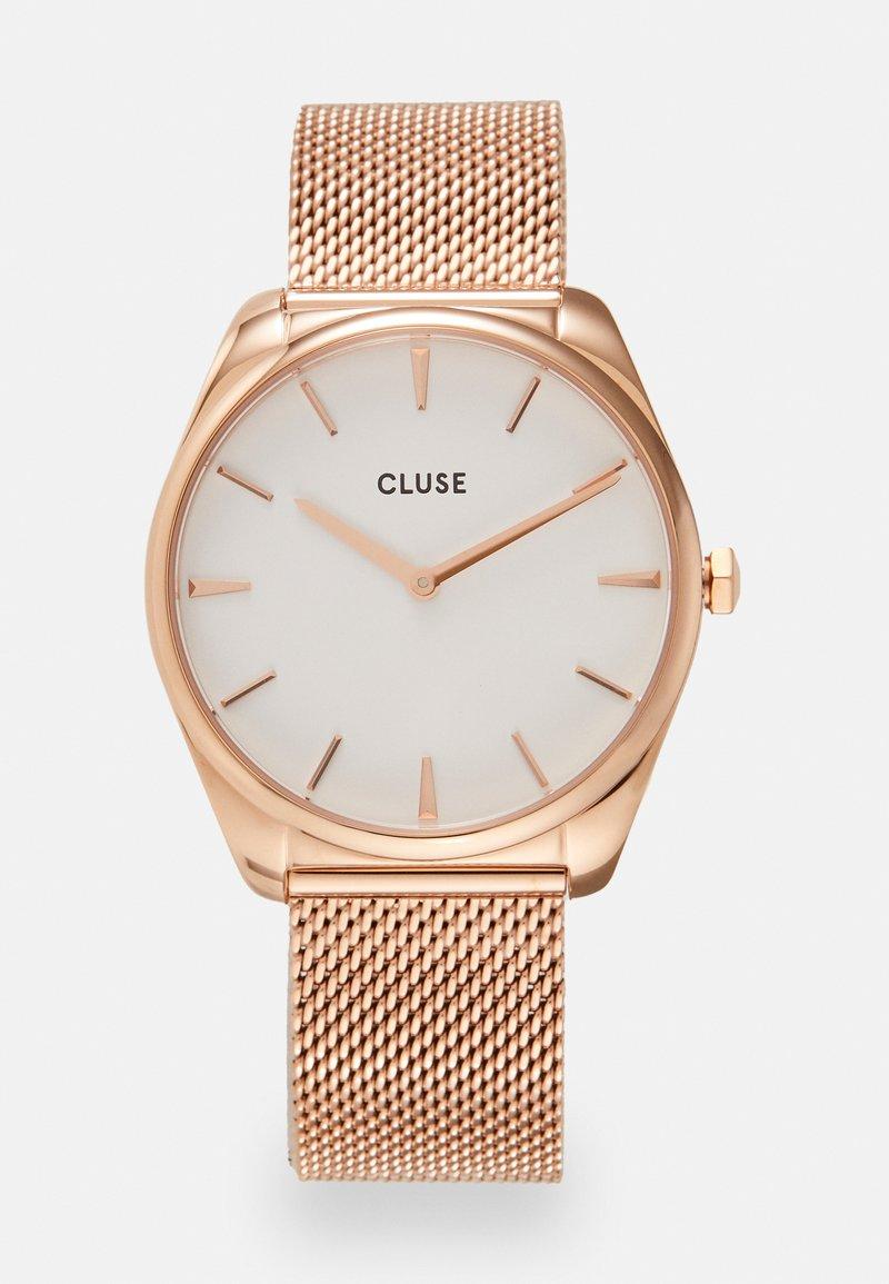 Cluse - FEROCE - Hodinky - rose gold-coloured/white