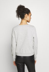 ONLY - ONLWENDY ONECK - Sweatshirt - light grey melange - 2