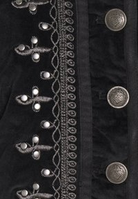 Free People - MAVEN PINTUCK JACKET - Light jacket - black - 2