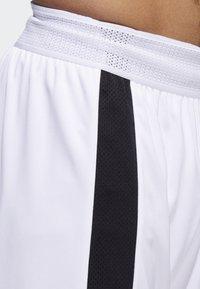 adidas Performance - CREATOR 365 SHORTS - Sports shorts - white/black - 5