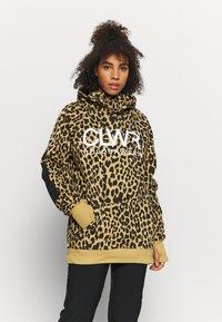 COLOURWEAR - BOWL HOOD - Sweatshirt - khaki - 0