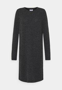 Noisy May Tall - NM LUCIE - Jumper dress - dark grey melange - 0